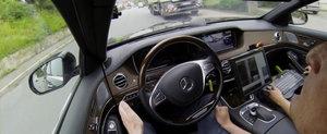 Mercedes-ul care se conduce complet singur