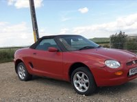 mg mgf rover 1.8 i decapotabil