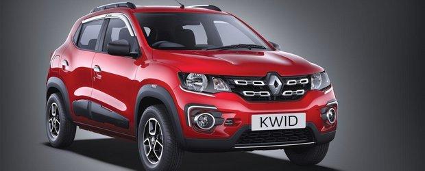 Micul Renault Kwid a dus India in topul pietelor de succes pentru producatorul francez