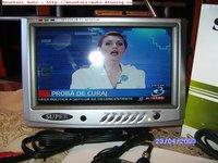 Monitor/ Mini-tv Portabil Cu Ecran Lcd 7''(18cm)