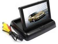 Monitor Video Auto Rabatabil Lcd 4,3 inch Pentru Camera Marsarier Model WS 438