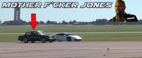 'Mother F*cker Jones', un Volvo de 600 cp care bate la fund multe Lamborghini ci Corvette-uri