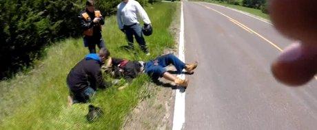 Motociclist in coma dupa o defectiune tehnica