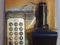 Mp3 Player/Modulator FM Auto 6 IN 1 cu telecomanda