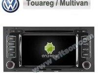 NAVIGATIE ANDROID 4.4.4 DEDICATA VW TOUAREG MULTIVAN T5 TRANSPORTER NAVD-A9200 INTERNET WIFI GPS DVD