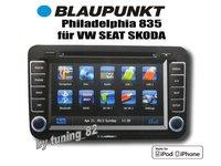 NAVIGATIE BLAUPUNKT PHILADELPHIA 835 DEDICATA VW GOLF 5 MK5 2003 - 2009 DVD GPS CARKIT