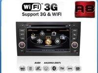 Navigatie Car Pc Witson W2 C050 Dedicata AUDI A4 Internet 3g Procesor Dual Core A8 1gmhz Dvr Hard Intern Preluare Agenda Telefonica Model Premium 2013