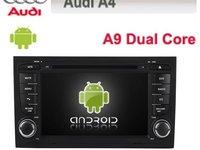 NAVIGATIE CU ANDROID DEDICATA AUDI A4 S4 RS4 SEAT EXEO EDOTEC EDT-G050 INTERNET WIFI ECRAN CAPACITIV