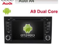 NAVIGATIE CU ANDROID DEDICATA AUDI A4 S4 RS4 SEAT EXEO MODEL EDT-G050 INTERNET WIFI ECRAN CAPACITIV