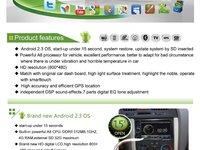 NAVIGATIE DEDICATA ANDROID VW GOLF 4 INTERNET NAVD 1802G