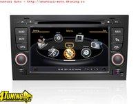 Navigatie Dedicata AUDI A4 Procesor Dual Core 1ghz DVD AUTO GPS NAVD C050