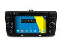 NAVIGATIE DEDICATA Edotec M005 SKODA OCTAVIA 2 INTERNET 3G WIFI DVD GPS CARKIT USB COMENZI PE VOLAN