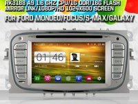 NAVIGATIE DEDICATA FORD MONDEO FOCUS 2 S-MAX GALAXY TOURNEO MODEL WITSON W2-M003S ANDROID