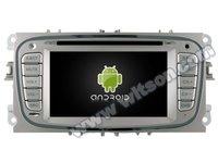 NAVIGATIE DEDICATA FORD MONDEO FOCUS 2 S-MAX GALAXY TOURNEO WITSON W2-M003S ANDROID 16GB 3G DVR WAZE