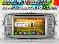 NAVIGATIE DEDICATA FORD MONDEO FOCUS 2 S-MAX GALAXY TOURNEO WITSON W2-M003S ANDROID QUADCORE 16GB 3G