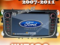 Navigatie Dedicata Ford Mondeo WITSON W2 D9457 Gps Dvd Carkit Preluare Agenda Rama Neagra