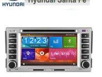 NAVIGATIE DEDICATA HYUNDAI SANTA FE WITSON W2 D8268Y DVD GPS CARKIT INTERNET 3G WIFI ECRAN CAPACITIV