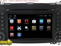 Navigatie Dedicata Mercedes Benz Vito Viano Sprinter A B Clas Vw Crafter Edt G068 Cu Android 4 2 2 Internet Wifi Procesor Cortex A9 1 6ghz Ddr 3 1gb Ecran Capacitiv Carkit Bluetooth Preluare Agenda Telefonica Mirror Link Model Premium