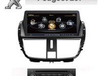 NAVIGATIE DEDICATA PEUGEOT 207 WITSON W2-C207 PLATFORMA S100 PROCESOR DUAL CORE A8 DVD TV CARKIT