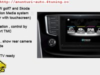 Navigatie Dedicata Skoda Octavia 2013 VW GOLF 7 Dynavin Dvn Invw001 Gps Tv Camera Video Cadou Montaj Calificat In Toata Tara