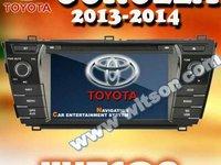 NAVIGATIE DEDICATA TOYOTA COROLLA 2013 2014 WITSON W2-D8156T PLATFORMA C36 WIN8 STYLE DVD PLAYER GPS