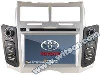 NAVIGATIE DEDICATA TOYOTA YARIS 2005-2011 WITSON W2-D8111T PLATFORMA C36 WIN8 STYLE DVD PLAYER GPS