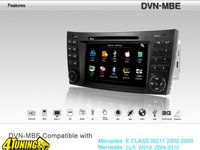 Navigatie Dynavin Dedicata Mercedes Benz E Class Dvd Gps Tv Tuner Car Kit Usb Divx