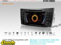 Navigatie Dynavin Dedicata Mercedes E KLASS W 211 Camera Cadou Gps Dvd Usb Tv Ipod Internet 3g