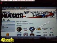 Navigatie Ford FOCUS C MAX DVD GPS CARKIT TV INTERNET NAVD 8903