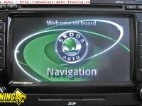 Navigatie Originala RNS 510 SKODA COLUMBUS DVD SD MP3 Video In Motion Activat