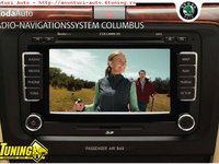 Navigatie Originala Skoda Columbus RNS 510 LED HDD Touchscreen