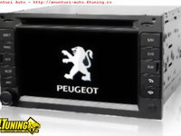 Navigatie Tti 8917 Dedicata PEUGEOT 307 Internet 3g Dvd Gps Tv Cat Kit Ipod Comenzi Volan Model 2012
