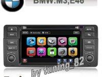 Navigatie TTi 8952i Dedicata Bmw Seria 3 E46 Facelift 2002 2006 Butoane Cauciucate Oem Internet 3g Wifi Gps Tv Dvd Carkit Pip Model 2012