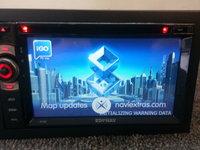 NAVIGATIE UNIVERSALA 2DIN EDONAV E100 BLUETOOTH, GPS, DVD, USB, SD, RADIO, TOUCHSCREEN