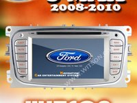 Navigatie Witson Dedicata Ford S- MAX Internet 3g Wi Fi Gps Dvd Tv Carkit Usb Comenzi Pe Volan Picture In Picture