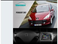 NAVIGATIE WITSON DEDICATA PEUGEOT 307 DVD GPS TV CAT KIT IPOD