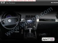 NAVIGATIE WITSON DEDICATA VW TOUAREG MULTIVAN Internet 3g Dvd Gps Car Kit Usb Tv Divx Model 2012