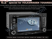 NAVIGATIE WITSON VW TOUAREG INTERNET 3G DVD GPS CAR KIT TV USB SD MODEL 2012