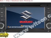 NAVIGATIE WITSON W2-C053 DEDICATA SUZUKI GRAND VITARA PLATFORMA S100 PROCESOR DUAL CORE A8 1GHZ 512 DDR 2 DVD GPS TV DVR CARKIT PRELUARE AGENDA TELEFONICA
