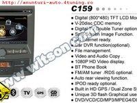 Navigatie Witson W2 C159 Dedicata Ssangyong Korando Actyon Platforma S100 Procesor Arm8 1gmhz Internet 3g Dvd Gps Carkit Preluare Agenda Telefonica Tv Comenzi Pe Volan