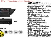 NAVIGATIE WITSON W2 C219 DEDICATA BMW X1 E84 PLATFORMA S100 PROCESOR DUAL CORE A8 1GHZ 512 DDR 2 DVD GPS TV DVR CARKIT PRELUARE AGENDA TELEFONICA MODEL 2014