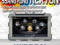NAVIGATIE WITSON W2 C269 DEDICATA SSANGYONG REXTON PLATFORMA S100 PROCESOR DUAL CORE A8 1GHZ 512 DDR 2 DVD GPS TV DVR CARKIT PRELUARE AGENDA TELEFONICA MODEL 2014