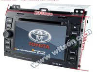 Navigatie WITSON W2-D9129T Dedicata Toyota LAND CRUISER 120 PRADO Dvd Gps Carkit Preluare Agenda Model 2013