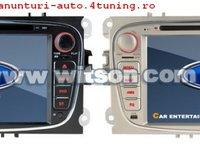Navigatie Witson W2 - D9457FS Dedicata Ford Focus Internet 3g Dvd Gps Carkit Cu Preluare Agenda Telefonica Tv Comenzi Pe Volan Model 2013