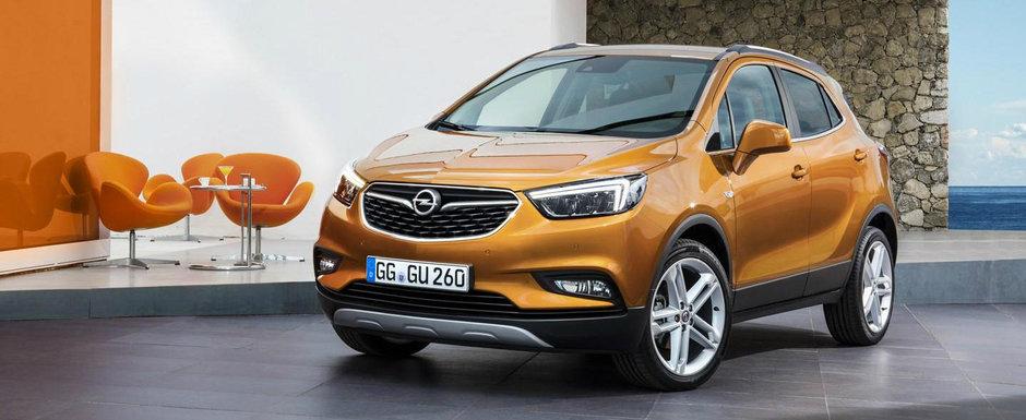 Nerabdator sa experimenteze jungla bucuresteana. Uite cat costa in Romania noul Opel Mokka X