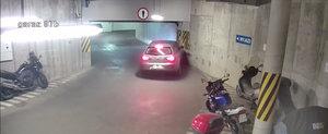 Nimeni nu-i in siguranta. Ce se intampla atunci cand un sofer beat incearca sa iasa dintr-o parcare subterana