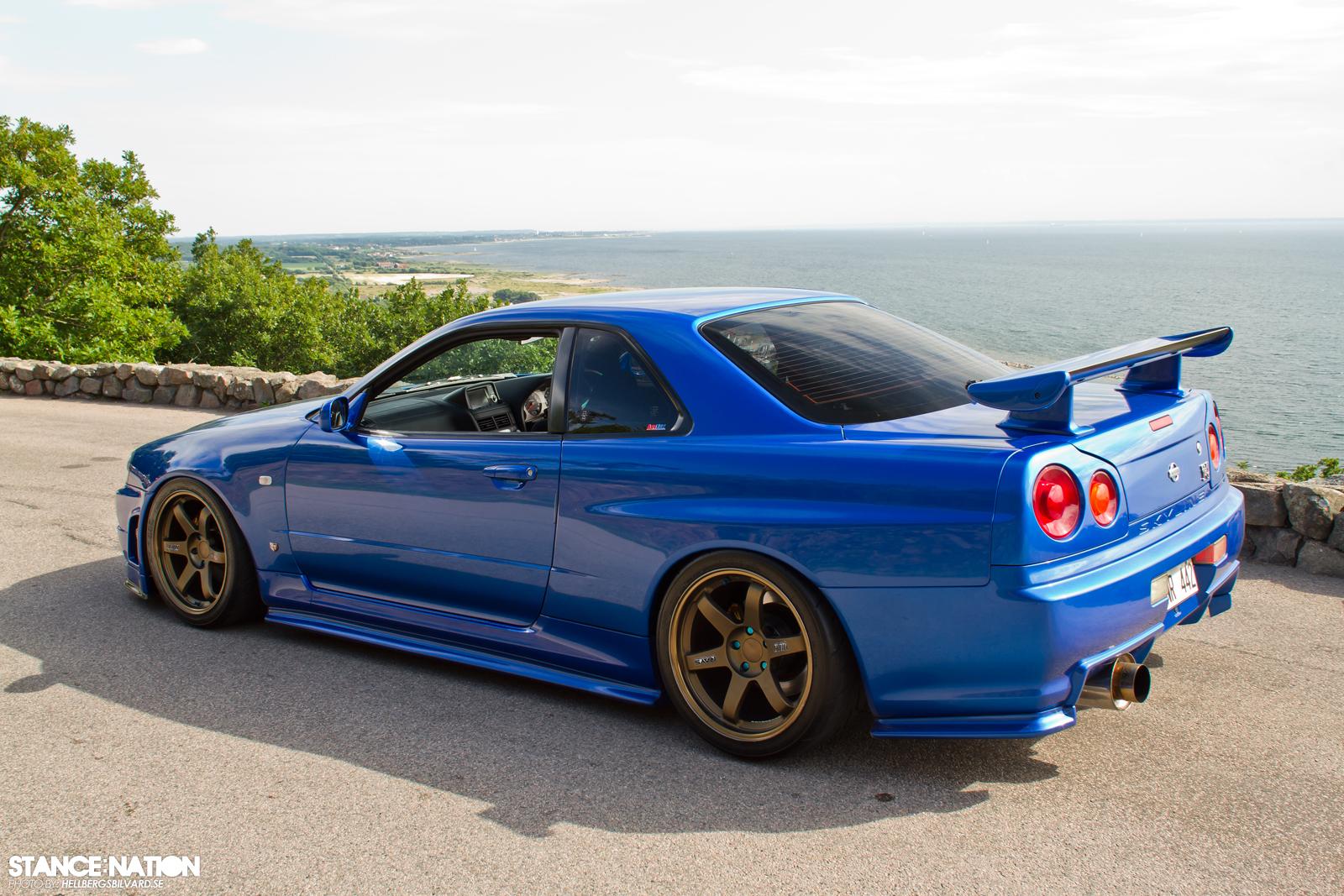 4Tuning » Poze masini » Masini Tunate » Nissan Skyline R34 GT-R ...