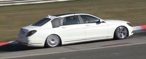 Noi imagini cu viitorul Mercedes S-Class XL, inlocuitorul modelelor Maybach
