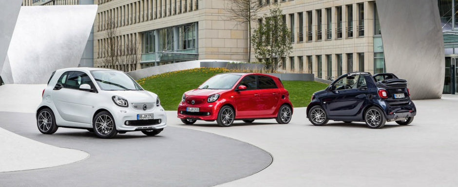 Noile modele smart BRABUS, disponibile si in Romania de la 19.866 Euro