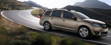 Noua Dacia Logan MCV intra in productia de serie